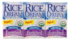 Enrc Bev Organic(95%+) Orig 1512219 9x3/8 Fluid oz Case by RICE DREAM