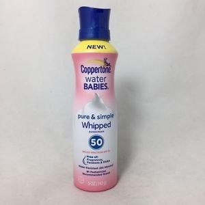 Coppertone Spf50 Water Babies Pure Lotion 5 Oz