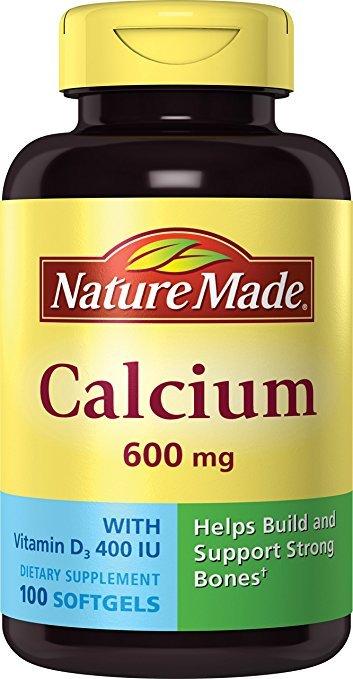 Nature Made Calcium + D 100 Soft Gel Tab