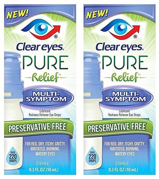 Clear Eyes Pure Relief Multi-Symptom 0.34 Oz