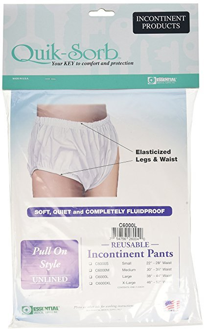 Essential Medical Supply Quik-Sorb Large Pullon Pant