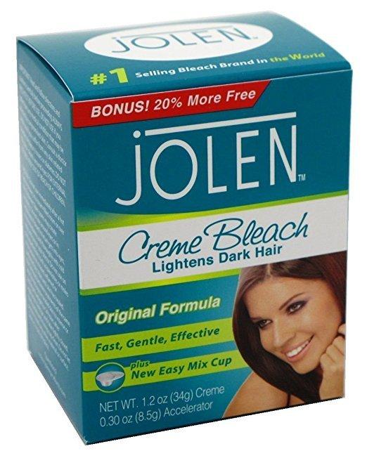 jolen hair bleach instructions