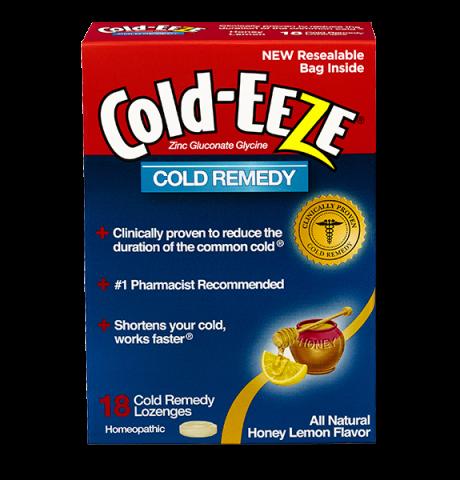 Cold-Eeze Box Honey Lemon 18 Lozenge