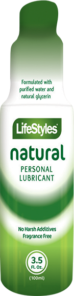 Lifestyle Pure Personal Lubricant 3.5oz