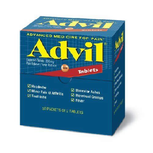 Advil Dispenser Tablet 50 x 2pk