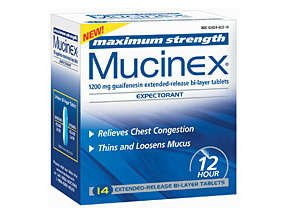 Image 0 of Mucinex Maximum Stength 14 Tablet