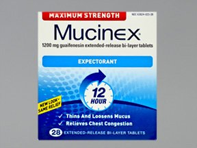 Mucinex 1200 mg Maximum Stength Tablets 28
