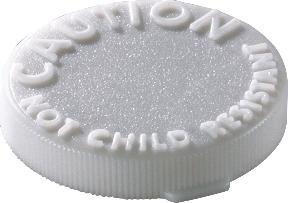 Ob Caution Snap Cap Nchild Resistant Caps 20Dr 1X100 Ct