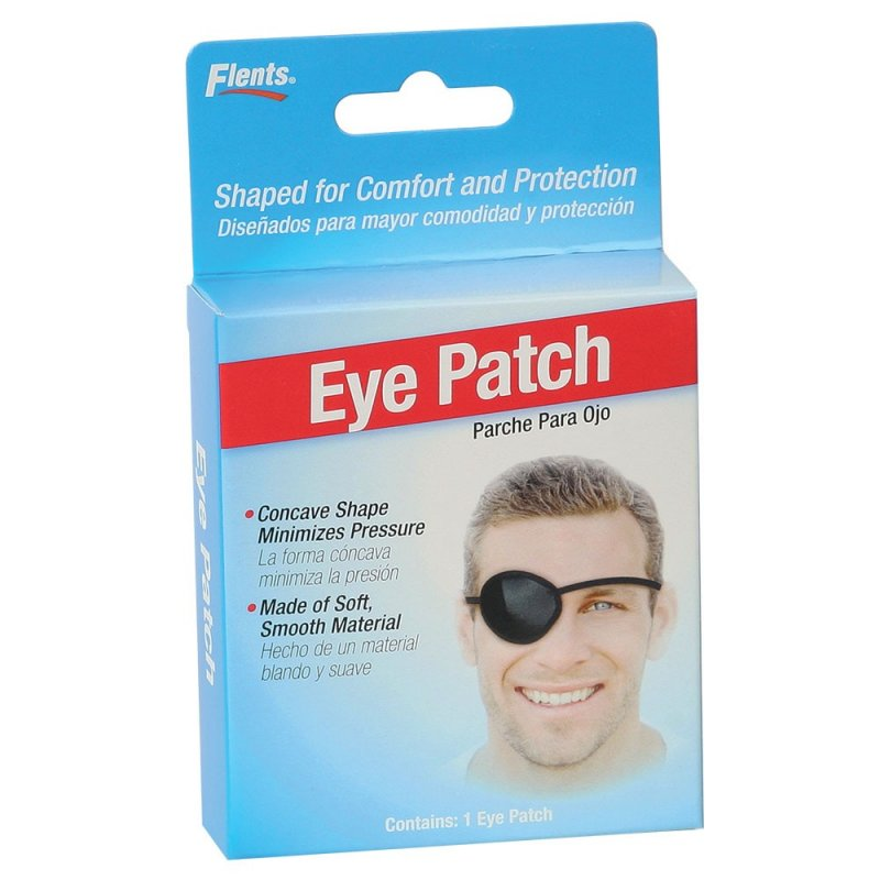 Eye Patch Regular Black 1ct
