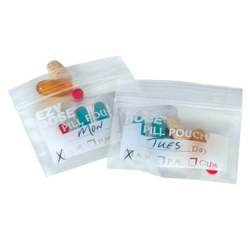 Image 1 of Disposable Pill Pouch 50ct