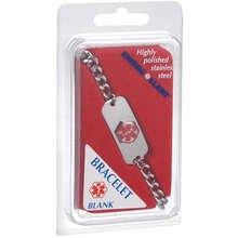 Med Id Bracelet Blank 1X1 Each