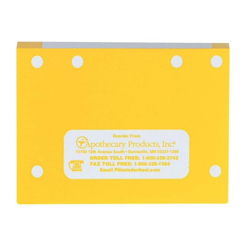File Folders with Tabs - Yellow, Double-Fold 100ct