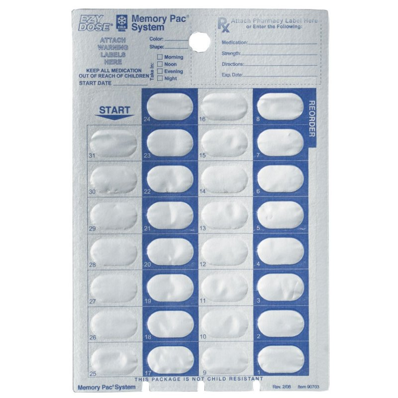 Image 0 of 31-Day Cold Seal Card 500ct