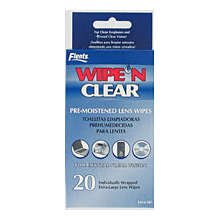 Flents Wipe And Clear Premoistened Tissue 20 Each