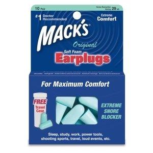Macks Ear Plug Ultra Foam Teal 10 Pr