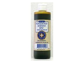Povidone Iodine 10% Solution Liquid 8 Oz