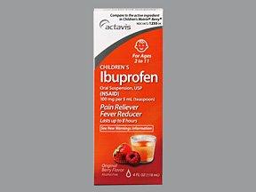 Ibuprofen 100 mg/5ml Suspension 4 Oz