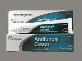 Miconazole Nitrate 2% Cream 1 Oz By Actavis Pharma