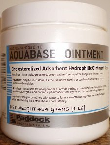 Aquabase Ointment 1 Lb By Paddock