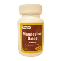 Generic Items Otc - Watson Rugby Lab - Magnesium Oxide 400 ...