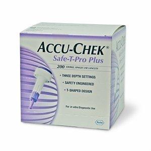 Accu-Chek Safe-T-Pro Plus 200 By Roche Diagnostics