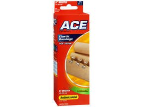 Ace Elastic Bandage With Clip 6 Inch