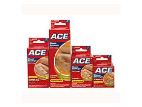 Ace Elastic Bandage With Ez Clips 2 Inch