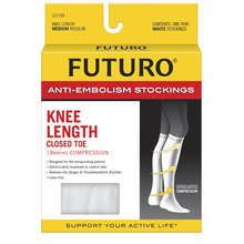 Anti-embolism Knee Hi Stockings Clt Med Rg 1X1 Each By Beiersdorf / Futuro Inc
