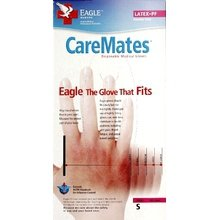 Image 0 of Caremates Latex Glove Powder free Ns Small 10 In Each : Case One: Case