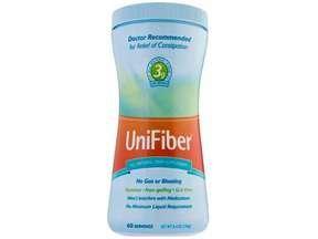 Unifiber Natural Fiber Supplement Powder 8.4 Oz