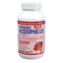 Acidophilus Chewable Strawberry 100 Waf By American Health