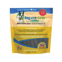 Breath-Less Brushless Chewable Toothpaste For Dogs 12 Oz By Ark Naturals