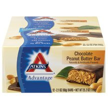 Advantage Bar Chocolate Peanut Butter 5 x 1.6 Oz By Atkins