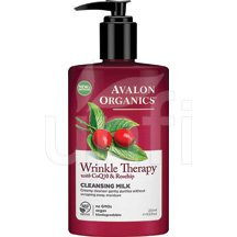 Avalon Active Organic CoQ10 Skin Care Facial Cleansing Milk 8.5 Oz