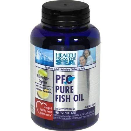 Pfo (Pure Fish Oil) 90 Cap 1 By Health From The Sea