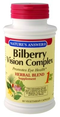Image 0 of Bilberry Vision Complex 60 Vcap 1 By Natures Answer