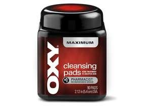 Oxy Daily Cleansing Maximum Pads 90
