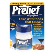 Prelief Dietary Supplement Acid Relief Tablets 120