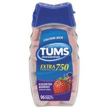 Image 0 of Tums Extra Strength Assorted Berries Antacid Tablets 96