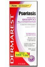 Dermarest Shampoo 2 In 1 8 Oz