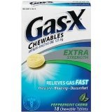 Gas-X Extra Strength Antigas Peppermint Creme Chewable Tablets 18