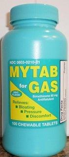 Mytab Gas 80mg Tablets 100