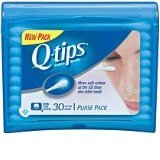 Q-Tips Cotton Swabs Purse 30 Pack