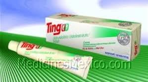 Image 2 of Ting Antifungal Cream 0.5 Oz