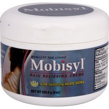 Mobisyl Maximum Strength Arthritis Pain Relief With Aloe Vera Cream 8 oz