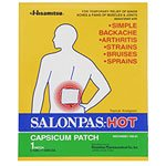 Image 0 of Salonpas Patch Hot Capsicum Unscented 50x1 Ct.