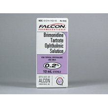 Brimonidine Tartrate 0.2% Drops 10 Ml By Falcon Pharma.