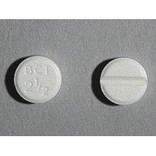 Bromocriptine Mesylate 2.5 Mg Tabs 30 By Sandoz Rx.