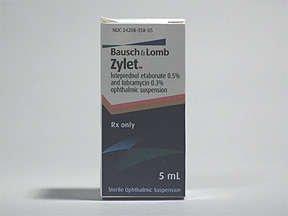 Image 0 of Zylet Drop 5 Ml By Valeant Pharma