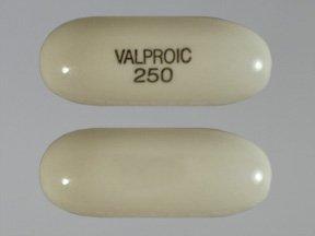 Valproic Acid 250 Mg Caps 100 By Actavis Pharma